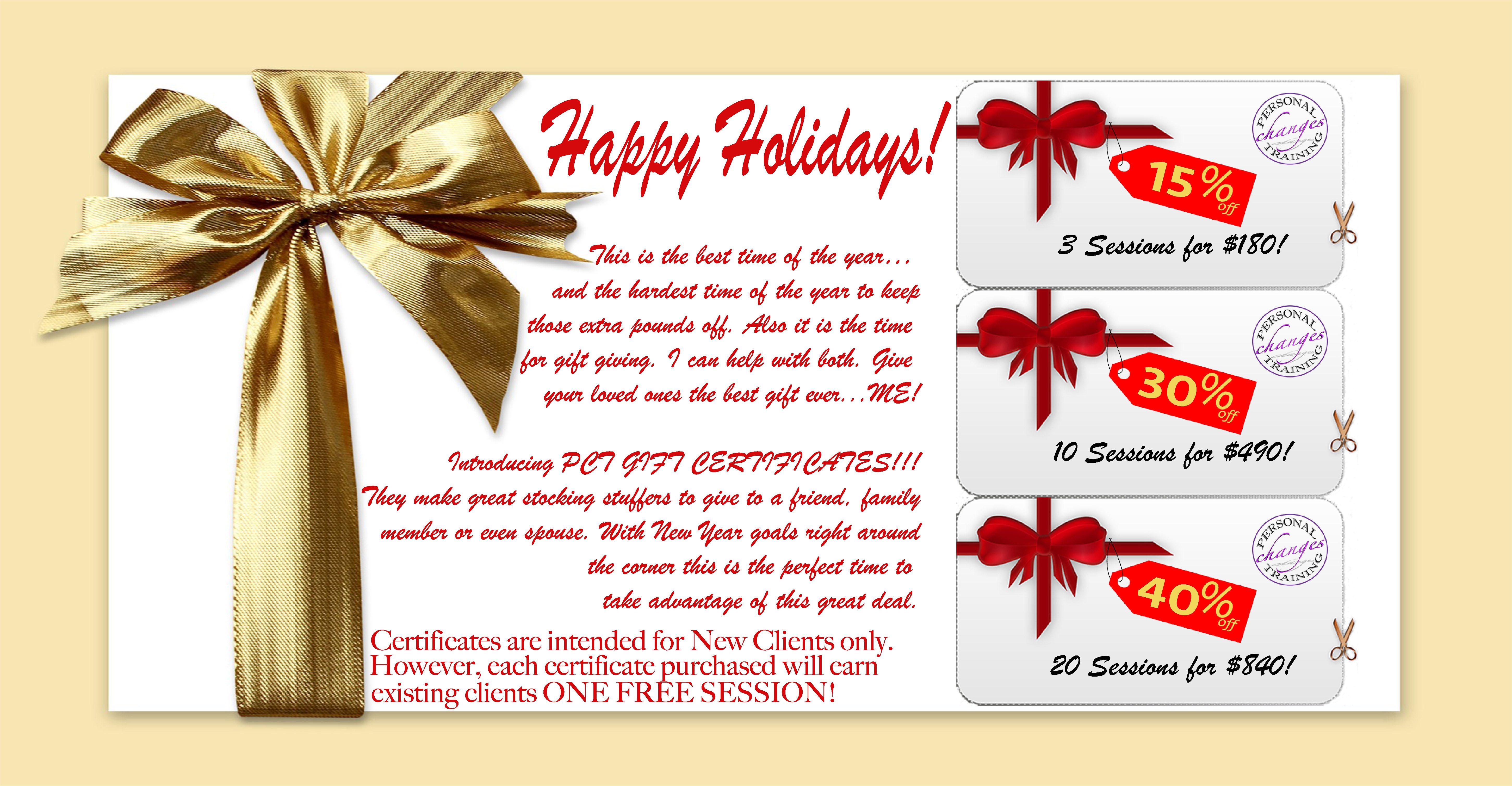 PCT Gift Certificates post thumbnail